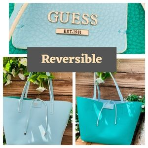 NWT reversable inside out XL tote
